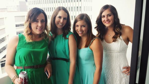 Ladies at Alanna's bachelorette
