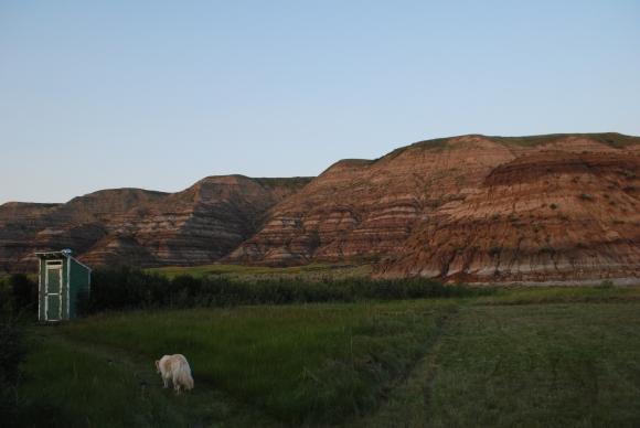 Drumheller landscape