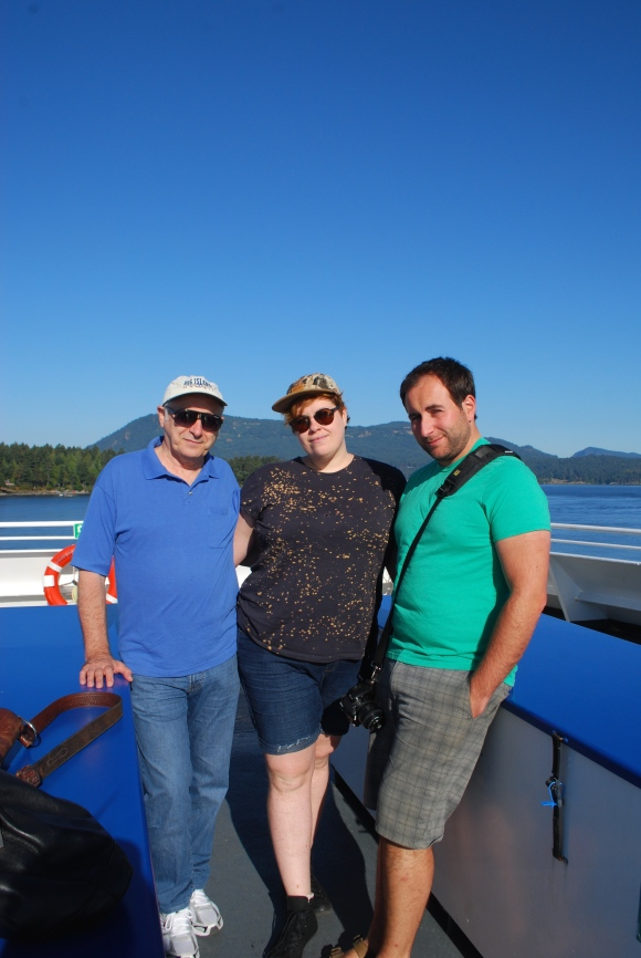 Ferry to Saturna