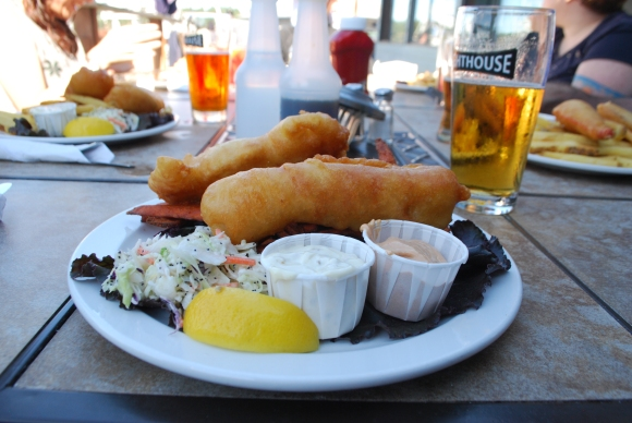 Saturna fish and chips