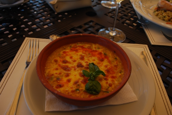 Pastel de choclo at Piatelli