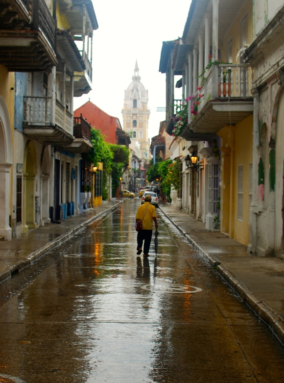 Cartagena after the rain