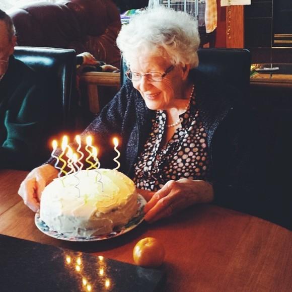 Grandma's 91st birthday