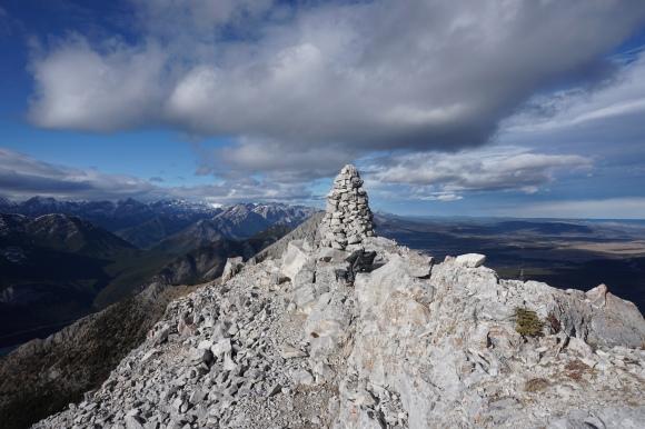 Baldy Pass - Peak Cairn