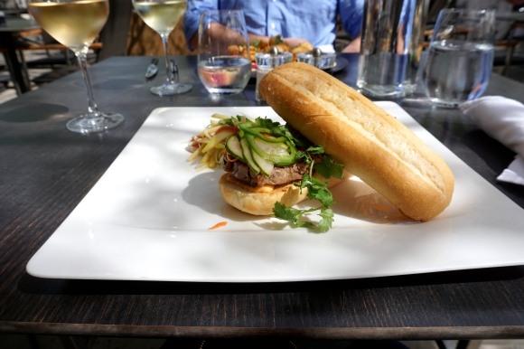Duck bahn mi at Solbar