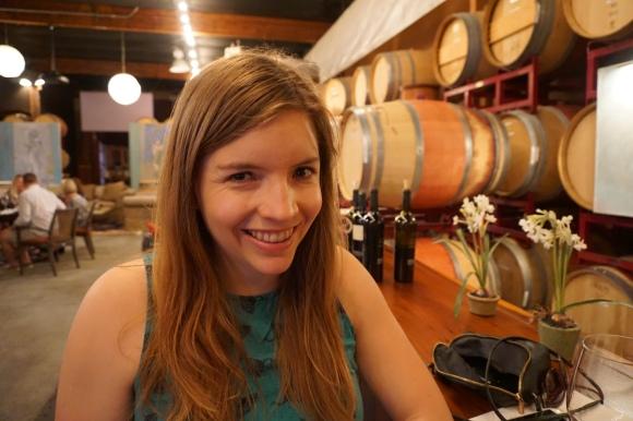 Napa Heather wine tasting