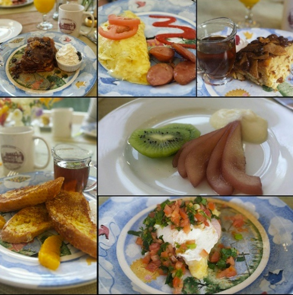 Churchill manor breakfasts