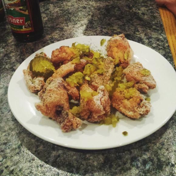 Mugshotz dill pickle wings