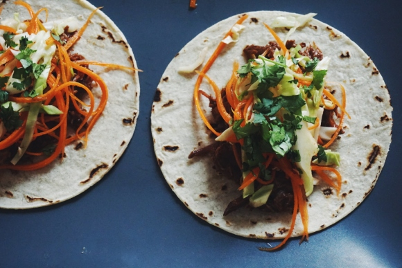 Macheesmo beef slow cooker tacos